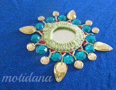 shimmering shisha ,mirror work , indian embroidery using thread , mirror and kundan stones Hand Work Embroidery, Indian Embroidery, Hand Embroidery Designs, Beaded Embroidery, Embroidery Stitches, Embroidery Patterns, Folk Embroidery, Kutch Work, Fabric Embellishment