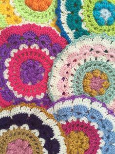 Ruby Jane's Lane Crochet Mandalas for Marinke