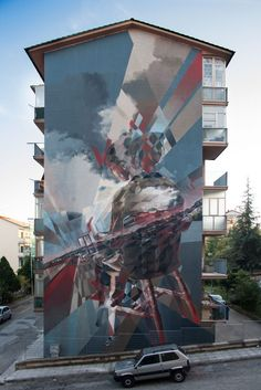 """""""Lights on the Horizon"""" by Vesod in Campobasso, Italy, 11/17 (LP)"""