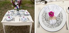 Enamelware~Gray, combine the grey marble pattern with vintage white with grey rim for a classic glamping scheme.