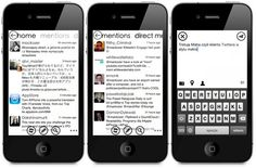 Maha - Twitter client with Metro UI (iPhone)