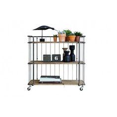 Storage Trolley, Tea Trolley, Drinks Trolley, Industrial Shelving, Industrial Style, Billy Regal, Ikea Kallax Regal, Style Retro, Wooden Shelves