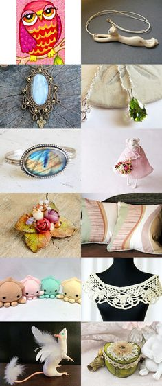 Charming gifts!  by Anna Styopina on Etsy--Pinned+with+TreasuryPin.com