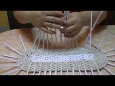 (GREAT TUTORIAL) Using wooden sticks for firmness of basket... ▶ Модные сумки своими руками. Часть 5. - YouTube