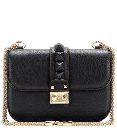 a forever bag - Lock Small leather shoulder bag Valentino