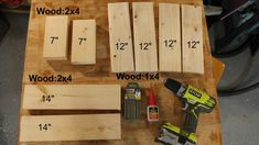 How to Make a Simple Step Stool - ToolBox Divas Pallet Ideas Easy, Diy Pallet Projects, Wood Projects, 1x4 Wood, Wood Glue, Diy Stool, Step Stools, Pet Steps, Intarsia Woodworking