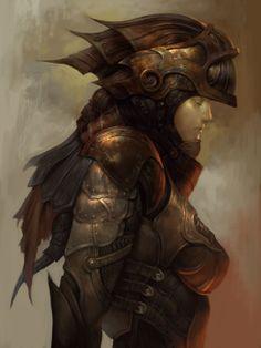 Dragon Knight by Keun Chul