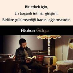 Bir erkek için, En başarılı intihar girişimi, Birlikte güldümsediği kadını ağlatmasıdır. - Atakan Gülgar(Kaynak: Instagram - askbaz)#sözler #anlamlısözler #güzelsözler #manalısözler #özlüsözler #alıntı #alıntılar #alıntıdır #alıntısözler #şiir #edebiyat