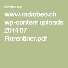 www.radiobeo.ch wp-content uploads 2014 07 Florentiner.pdf