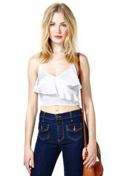 Smooth Operator Crop Top