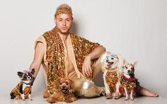 Fabulous Photos of New York City Dogs Dressed in Couture