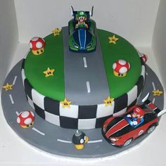 Image result for mario birthday cake