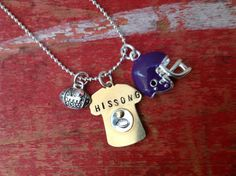 Miniature Jersey Football Mom/Girlfriend Sports by tagsoup on Etsy