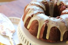 Chocolate Rocky Road Bundt for #BundtaMonth | Noshing With The Nolands