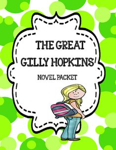 The Great Gilly Hopkins Novel Study Unit Bundle Story Elements Activities, Plot Activities, Feelings Activities, Vocabulary Activities, Cause And Effect Activities, Text To Self, Different Feelings, Context Clues, Teaching Language Arts
