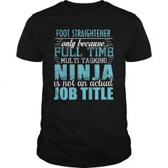 Cool  FOOT STRAIGHTENER Ninja T-shirt T-Shirts