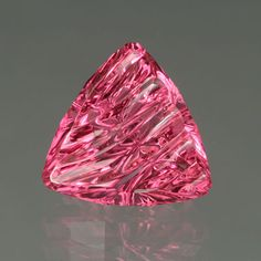 Hot Pink Tourmaline gemstone www. Pink Gemstones, Minerals And Gemstones, Crystals Minerals, Rocks And Minerals, Stones And Crystals, Gem Stones, Tourmaline Gemstone, Pink Tourmaline, Rare Gems