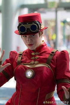 steampunk iron lady