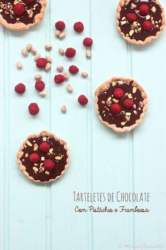 Madame Xícaras: Tarteletes de Chocolate