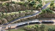 """Cab Ride on the Southern Pacific """"Cascades"""" N Scale layout"""