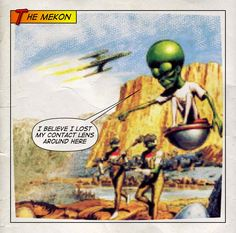 The Mekon has issues...