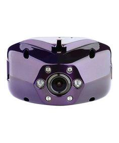 This Purple Polaroid 1080P HD Dash Cam is perfect! #zulilyfinds