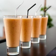 8 warm, hearty, healthy breakfast recipes to make: carrot-cake smoothies http://www.youtube.com/watch?v=zdx4GFZBv38