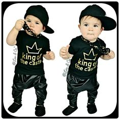 King Of The Castle™ Funny Baby, Toddler, and Kid Boys T-Shirt and One Piece Bodysuit. Baby Clothes. Boy Gift. By Liv & Co.™ - Liv & Co.