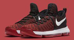 The Nike KD 9 University Red Drops Next Week