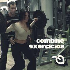 Em vez de fazer um exercício de cada vez, combine dois deles para o mesmo músculo, intercalando as séries de um e de outro. Isso agiliza o ganho de massa, porque exige um pouco mais do músculo, potencializando o treinamento em geral.