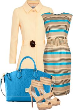 """The Power of Stripes"" by maggie-jackson-carvalho ❤ liked on Polyvore"