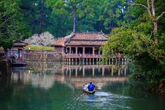 The imperial tomb of King Tu Duc Photo by Minh Nguyen -- National Geographic Your Shot