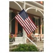 U.S. Flag Kit with 2.5 x 4ft Polycotton Flag & 5ft wood pole