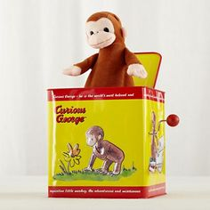 Kids' Toys: Kids Curious George Jack In The Box Toy in All Toys