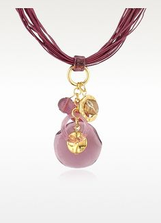 Antica Murrina Jana--Murano Glass Pendant Necklace