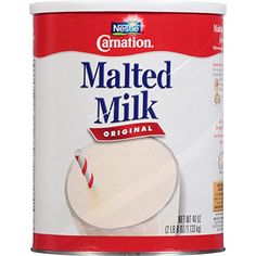 Carnation Malted Milk Original 40 Ounce ** Find out more about the great product at the image link. (This is an affiliate link) Breakfast Drinks Healthy, Healthy Drinks, Milk Recipes, Gourmet Recipes, Carnation Breakfast, Malted Milk, I Have A Secret, Bulk Candy, Powdered Milk