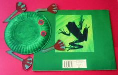 Learning Ideas - Grades Red-Eyed Tree Frog Book and Craft Project Rainforest Crafts, Rainforest Theme, School Projects, Craft Projects, Spring Arts And Crafts, Frog Theme, Red Eyed Tree Frog, Frog Crafts, Animal Habitats