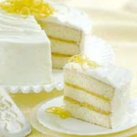 Triple Layer Lemon Cake Recipe - My mom's favourite for her birthday!