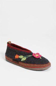 Women's Giesswein 'Spital Flower' Slipper