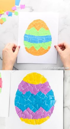 Paper Crafts For Kids, Easy Crafts For Kids, Toddler Crafts, Preschool Activities, Art For Kids, Cool Art Projects, Craft Projects For Kids, 4th July Crafts, Construction For Kids