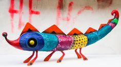 LARGE SPECIES - 'Culicidae Chameleonidae' GustavoRamirezCruz Paper Maché Artist♥♥