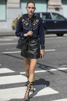 New York Fashion Week Spring-Summer 2016 - street style