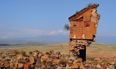 The abandoned city of Ani in Turkey