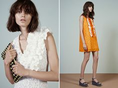 MSGM Resort 2015 - love the top on the left