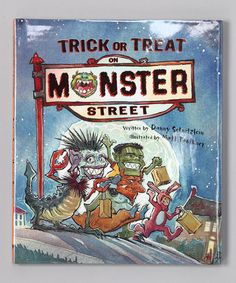 This Trick or Treat on Monster Street Hardcover is perfect! #zulilyfinds