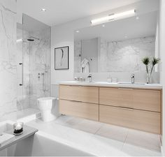 The Morrison — Annaliesse Kelly Design Minimalist Bathroom Design, Bathroom Design Luxury, Bathroom Renos, Small Bathroom, Washroom, Classic Bathroom, Bathroom Inspiration, North Vancouver, Basin Sink