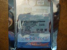 "Western Digital Black WD3200BEKX 2.5"" 320gb Sata 7200rpm 16mb 6Gb/s for laptops! #WesternDigital #data recovery #hard drive repair #computer repair #hard drives #hard drive parts #western digital"