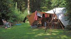 Friesland - De waps - Kamperen in de natuur met tent, caravan of camper in Friesland