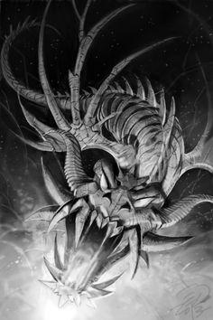 Fantasy Art Black and White Illustration Kickstarter www.kickstarter.com/projects/dangerouslands/dangerous-worlds-game-book-series