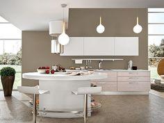 è possibile utilizzare il bianco per illuminare gli spazi, renderli più grandi ed eleganti. #arredare #design #arredamento
